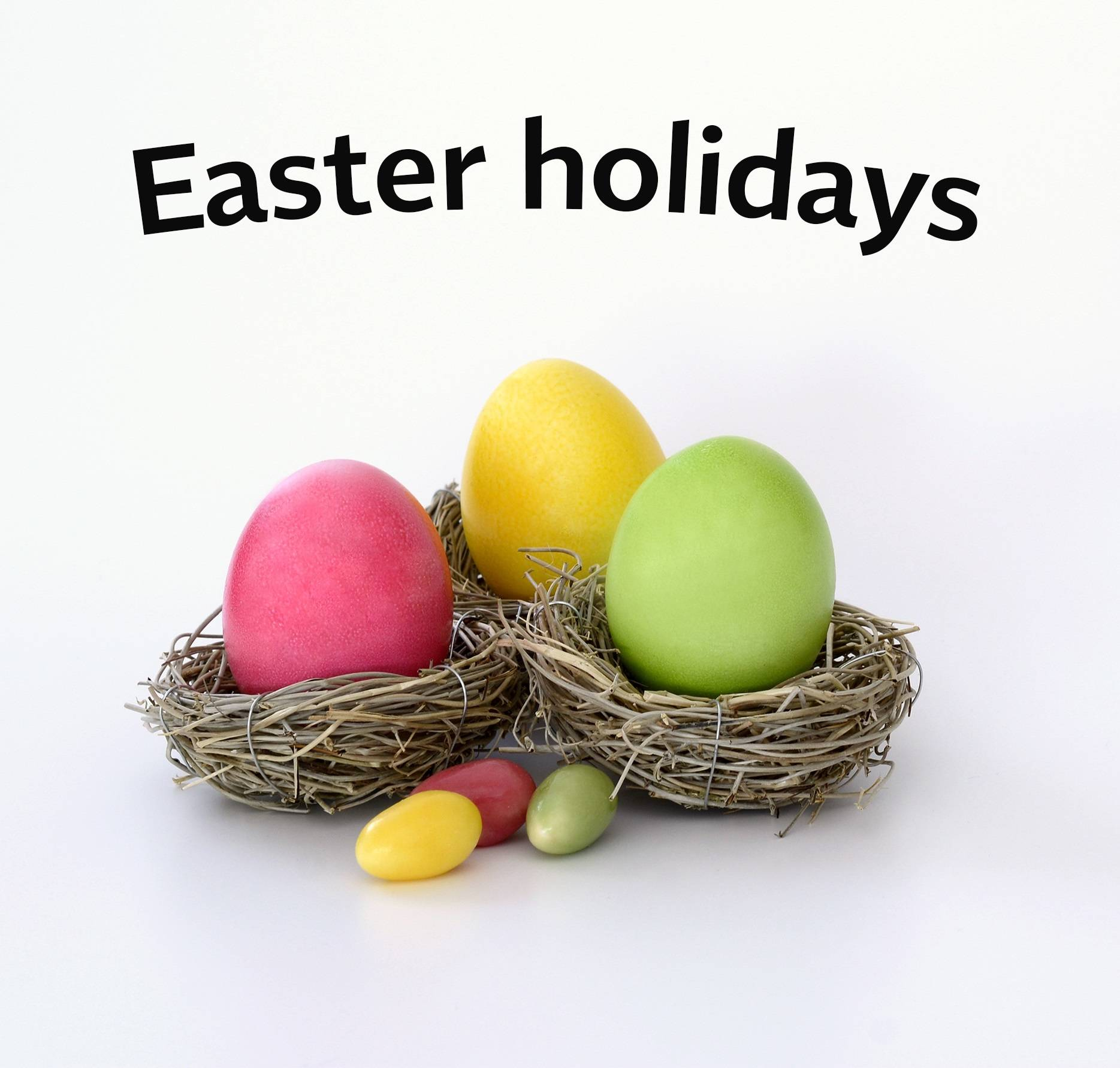 MILOS offices closed for the Easter holidays