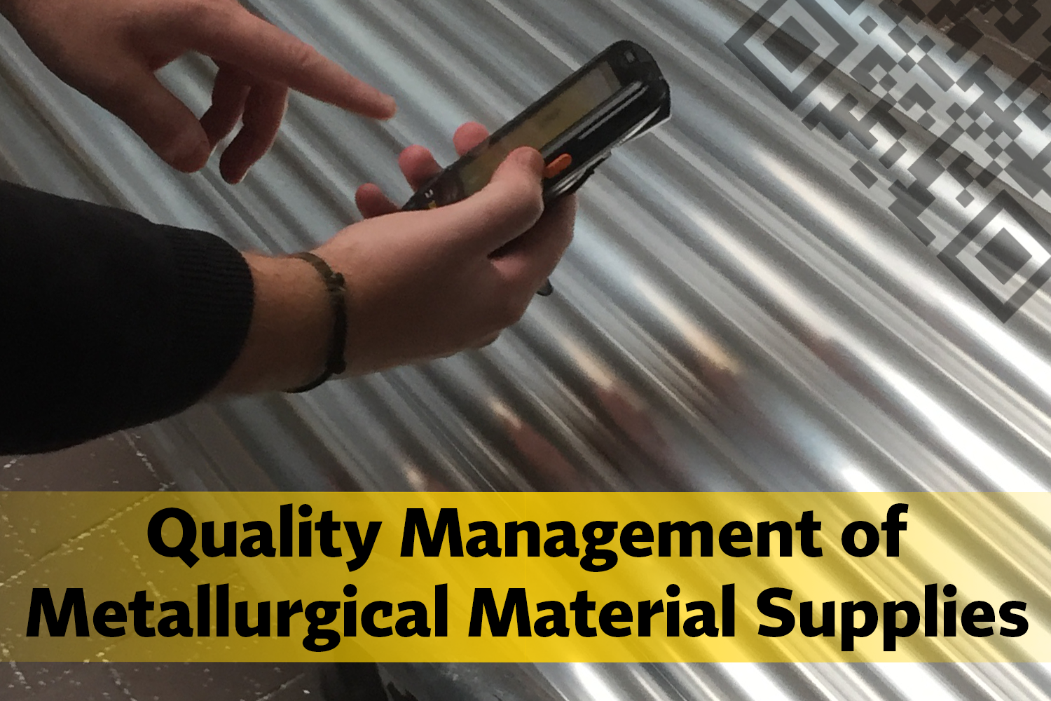 Quality Management of Metallurgical Material Supplies