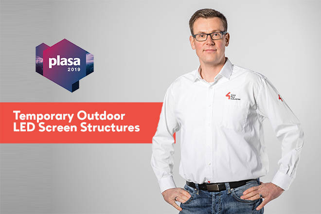 Norbert Tripp Presents at PLASA
